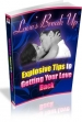 Love's Break Up: Explosive Tips For Getting Your Love Back