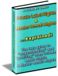 Private Label Rights And Master Resell Rights Explained