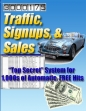 Traffic Signups And Sales