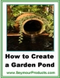 How To Create A Garden Pond