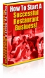 How To Start A Successful Restaurant Business