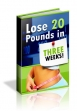 Lose 20 Pounds In Three Weeks